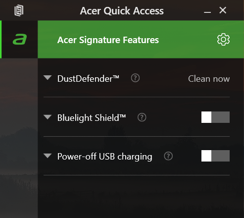 AcerQuickAccess
