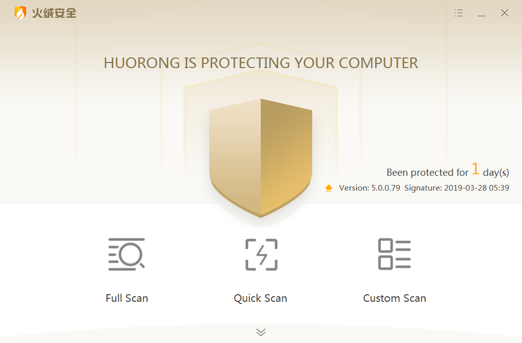 24 h with Huorong, a week with Comodo 12, a year with